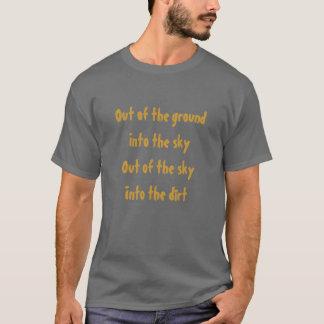 groundIntoからskyIntoのskyOut… Tシャツ