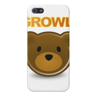 GROWLrのiphone 4ケース iPhone SE/5/5sケース
