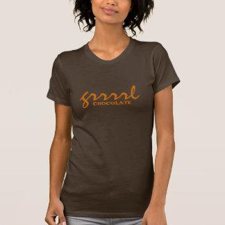 grrrlチョコレート tシャツ