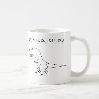 Grumpasaurusのレックスのスケッチのマグ コーヒーマグカップ