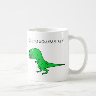 Grumposaurusのレックスの緑のマグ コーヒーマグカップ