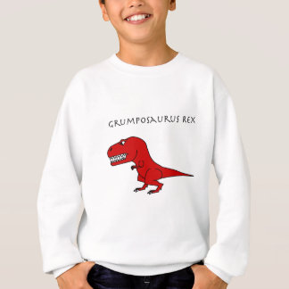 Grumposaurusのレックスの赤 スウェットシャツ