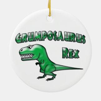 Grumposaurus 2015の青ガラス セラミックオーナメント