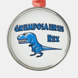 Grumposaurus 2015の青ガラス メタルオーナメント