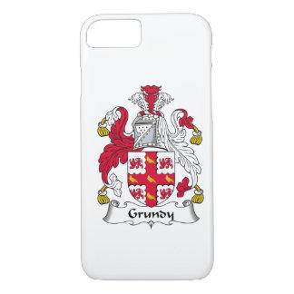 Grundyの家紋 iPhone 8/7ケース