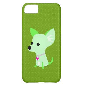 Grüneのチワワ iPhone5Cケース