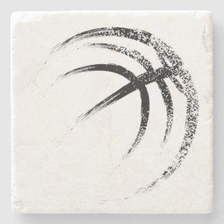 Grunge Style Basketball Design ストーンコースター