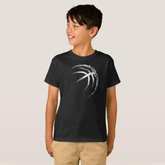Grunge Style Basketball Design Tシャツ