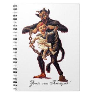 Grussのvom (挨拶からの) Krampus ノートブック