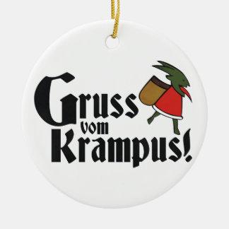 Gruss Vom Krampus セラミックオーナメント