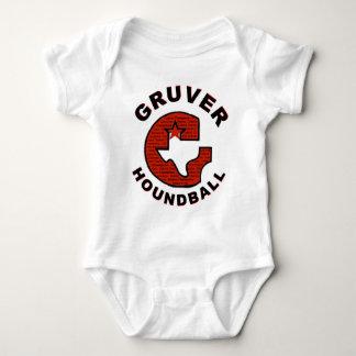 Gruver Gワイシャツ前部#2 ベビーボディスーツ