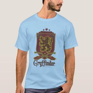 Gryffindor QUIDDITCH™のバッジ Tシャツ