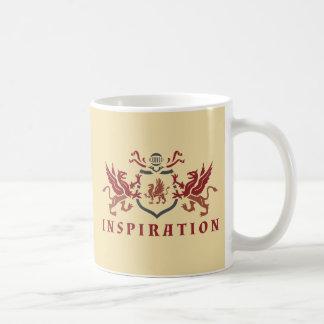 Gryphonのインスピレーションの紋章 コーヒーマグカップ
