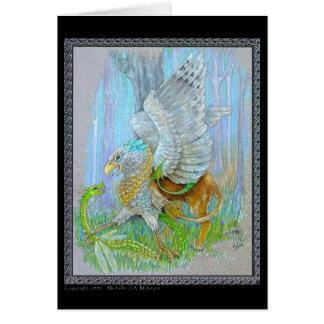 Gryphon及び妖精のドラゴン カード