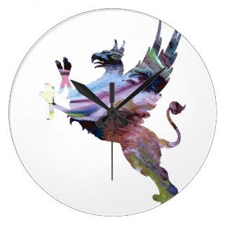Gryphon ラージ壁時計