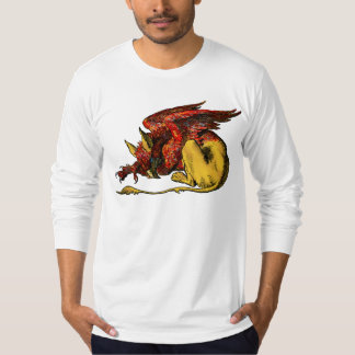 Gryphon -赤: tシャツ
