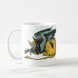Gryphon -青: コーヒーマグカップ