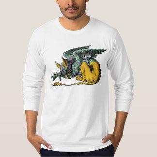 Gryphon -青: tシャツ