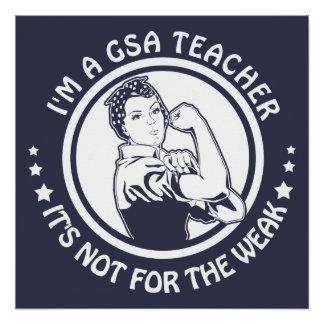 GSA Rosieのリベッターのロゴポスター- glendaleの成功 ポスター