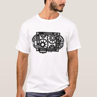 GSN -全体的な蒸気の網- SteampunkのデザインのTシャツ Tシャツ