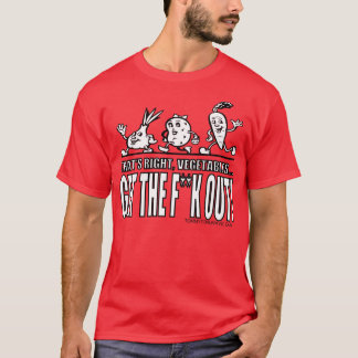 GTFOの野菜 Tシャツ