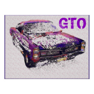 GTOのダイナーの芸術 ポスター