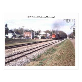 GTWの列車 ポストカード