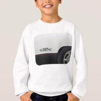 GTXのタイヤが付いている側面のマーカーの紋章 スウェットシャツ