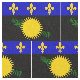 Guadaloupeの旗 ファブリック