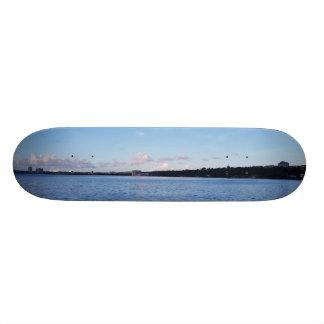 Guahanの海岸線 スケートボード