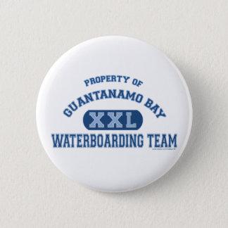 Guantanamo Bay Waterboardingのチーム 5.7cm 丸型バッジ