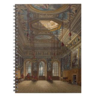 Guard Chamberの「王室のからのWindsorの城王の、 ノートブック