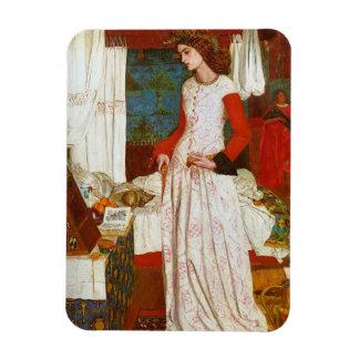 Guenevere、ウィリアム・モリスLaの美女のIseult |の女王 マグネット