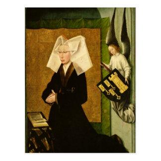 Guigone de Salinsの提供者の妻 ポストカード
