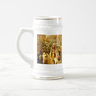 Guinevere女王のMaying ビールジョッキ