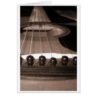 Guitar1 Notecard カード
