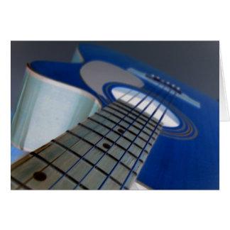 Guitar3 Notecard カード