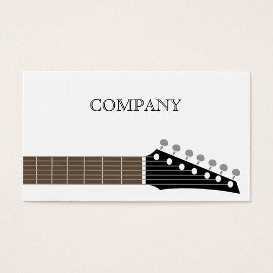 GUITAR BUSINESS CARD 名刺