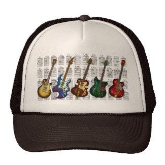 Guitar & chord2 メッシュハット