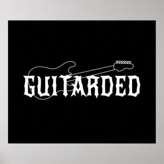 Guitarded ポスター
