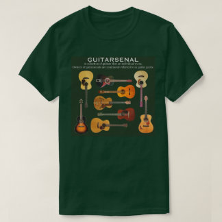 Guitarsenalのティー Tシャツ