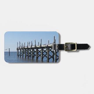 Gulfport桟橋 ラゲッジタグ