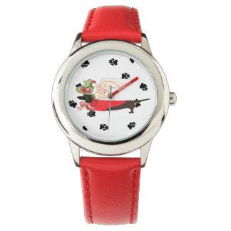 Gulliverの天使のダックスフントの腕時計 腕時計