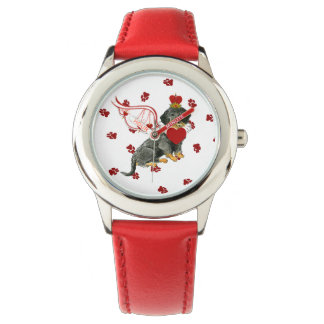 Gulliverの天使の硬い毛のダックスフントの腕時計 腕時計