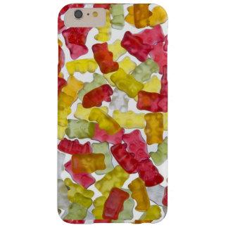 Gummie赤く、黄色および緑のキャンデー Barely There iPhone 6 Plus ケース