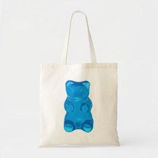 Gummybearの青いイラストレーション トートバッグ