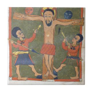 Gunda Gundeの福音からの葉 タイル