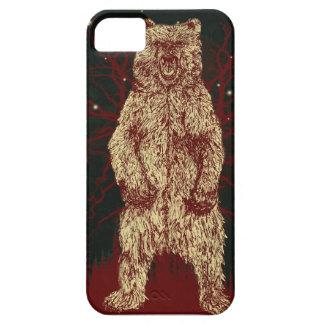 Gungeのスケート選手のスタイルの森林くま iPhone SE/5/5s ケース