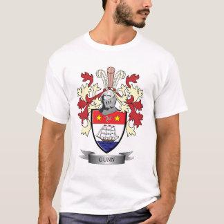 Gunnの家紋の紋章付き外衣 Tシャツ