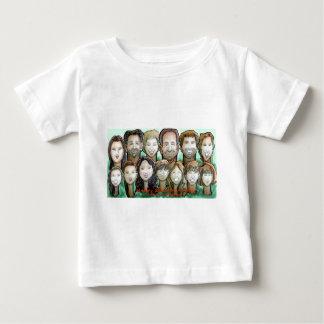 Gunn家族 ベビーTシャツ